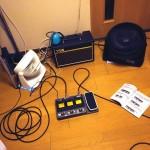 【バンド活動 20140912】Zoom G3X でギターの音作り