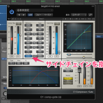 【DTM】Waves C1 で指定した帯域をトリガーさせてコンプ処理