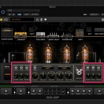 BIAS Desktop での音作りはプリ部の3-BAND FILTERS を調整しよう