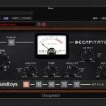 倍音付加で豊かな味付けから積極的な音色加工まで!!SoundToys Decapitator