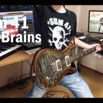 Sum 41 – No Brains [GUITAR COVER] [INSTRUMENTAL COVER] with SOLO by Yuuki-T