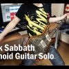 Black Sabbath – Paranoid [GUITAR SOLO COVER] [INSTRUMENTAL COVER] by Yuuki-T