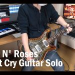 Guns N' Roses – Don't Cry [GUITAR SOLO COVER] [INSTRUMENTAL COVER] by Yuuki-T