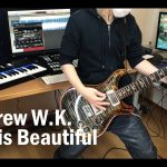Andrew W.K. – She is Beautiful [GUITAR COVER] [INSTRUMENTAL COVER] by Yuuki-T